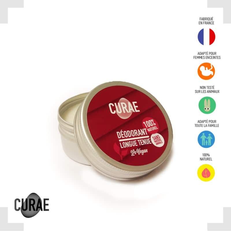 Déodorant naturel (VEGAN) - Rose 50g