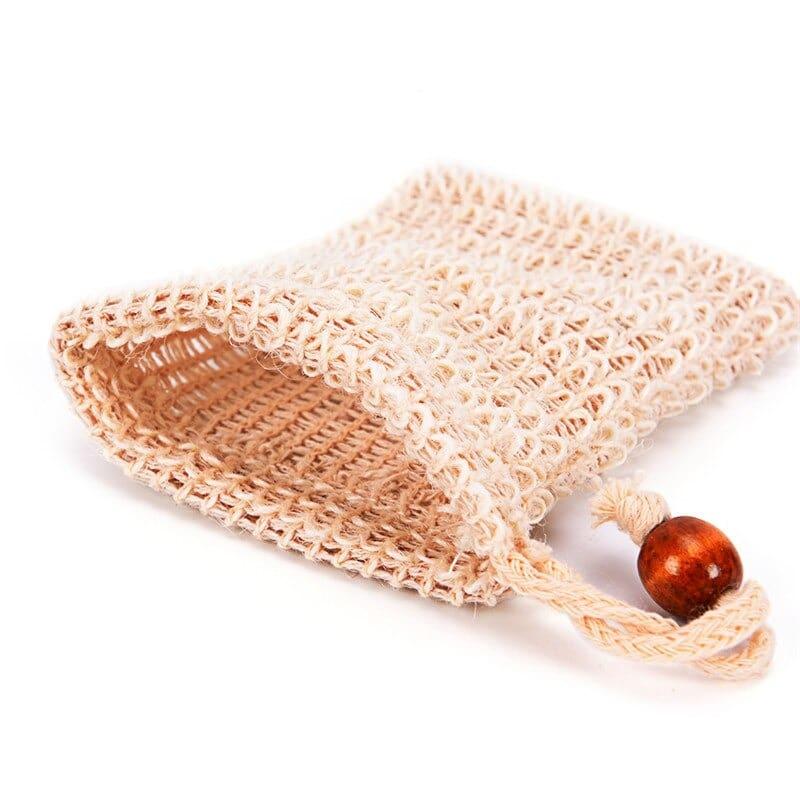 gants exfoliant en sisal