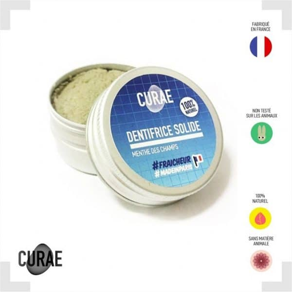 Dentifrice solide menthe des champs
