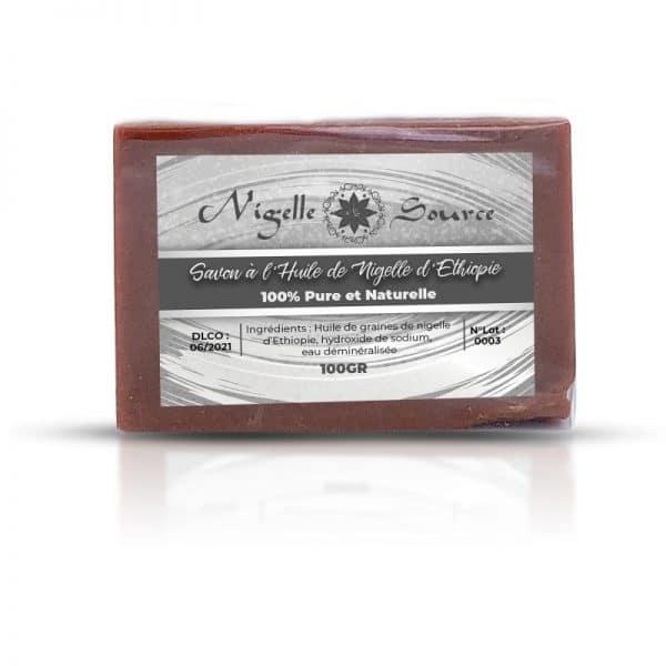 Savon noir à l'huile de nigelle Habachia 100g - Nigelle Source